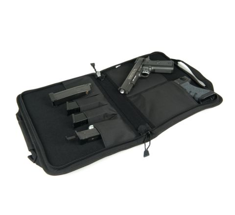 Swiss Arms 35 x 28cm padded Double Pistol Case / Gun Bag