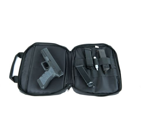 Swiss Arms 30 x 26cm padded Single Pistol Case / Gun Bag
