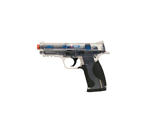Cybergun branded KWC Smith & Wesson M&P .40 CO2 Airsoft Pistol - Clear (Two-tone)