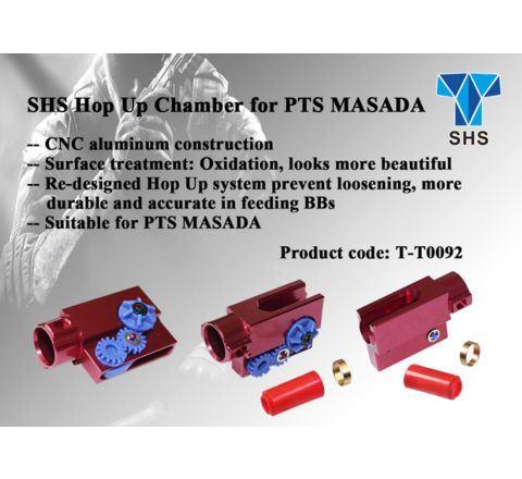 SHS PTS Masada Series CNC Replacement Metal Hop Unit
