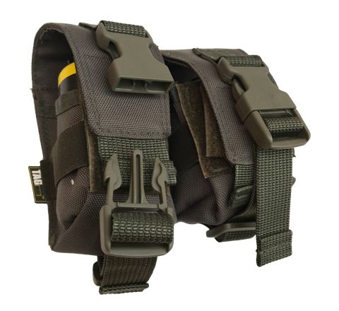 TAG Innovation Double Grenade Pouch - Olive