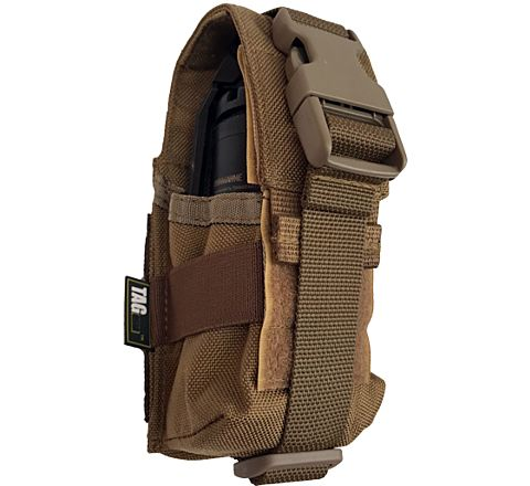 TAG Innovation Single Grenade Pouch - Dark Earth