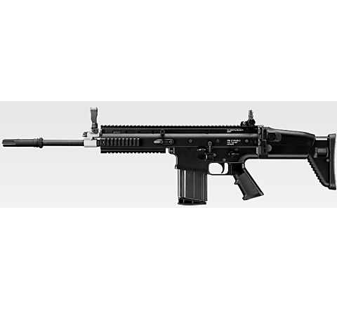 Tokyo Marui SCAR H 'Recoil Shock' Airsoft Rifle - Black
