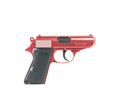 Tokyo Marui Two-Tone Red Police Pistol K 'Semi-Auto' Spring Airsoft Pistol