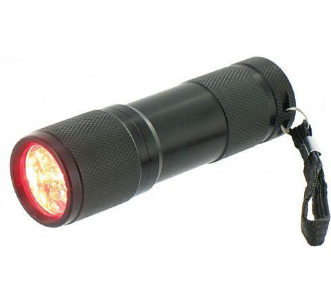Highlander Red Cobra Ultra Bright 9 Led Torch