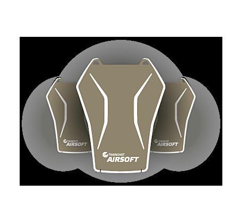 TrainShot Smart Airsoft Targets - Multi Targets x3