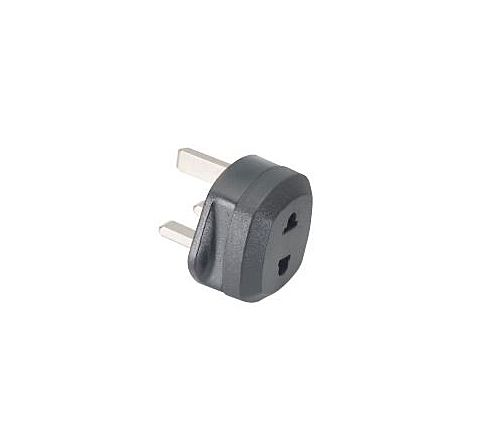 EU/USA/Asia to UK mains plug adaptor