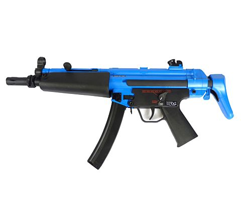 UMAREX branded SRC H&K MP5-J (MP5 A5) Sport Line Airsoft Assault Rifle Two-Tone