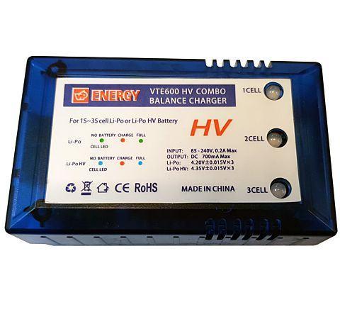 Vapex VTE600HV LiPo / HV LiPo Battery Charger