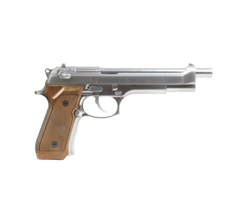 WE Airsoft M92-L Chrome Airsoft Pistol