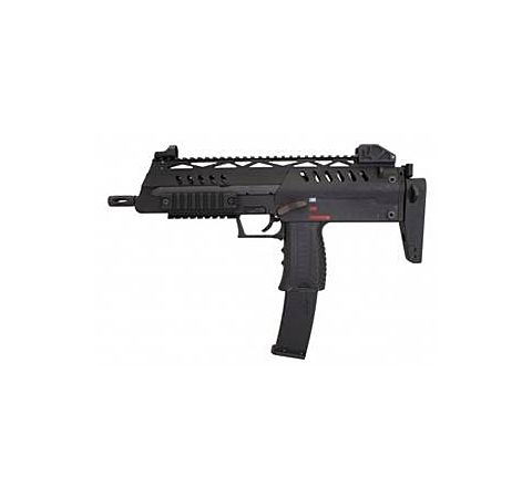 WE Airsoft SMG-8 / SMG8 GBB Airsoft SMG - Black