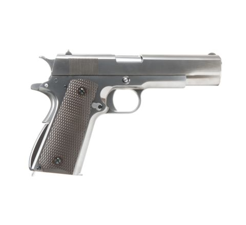 WE 1911A1 Stainless GBB Pistol