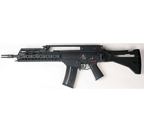 WE Airsoft G39 IDZ RAS Gas Blowback Airsoft Rifle
