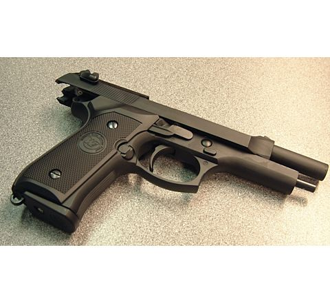 WE Airsoft M92 Standard GBB Airsoft Pistol.