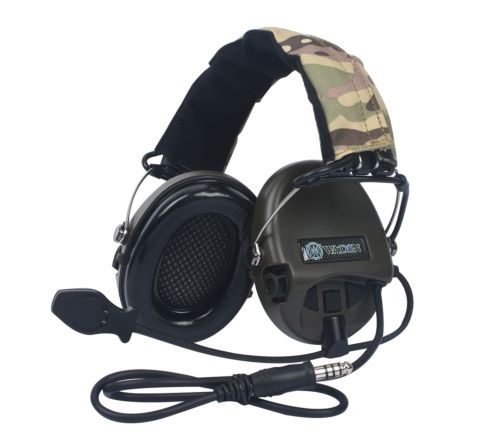 WADSN Sordin Headset Basic Version - Olive Drab