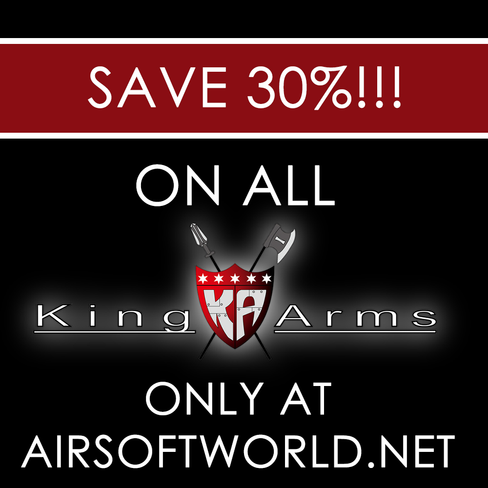 Save 30%  King Arms